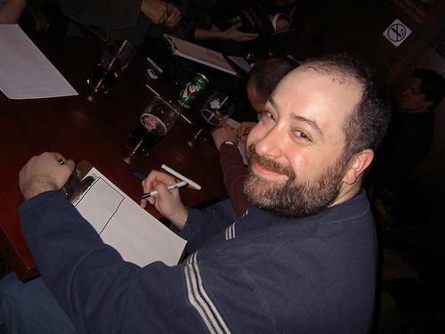 Shane Simmons as cartoonist