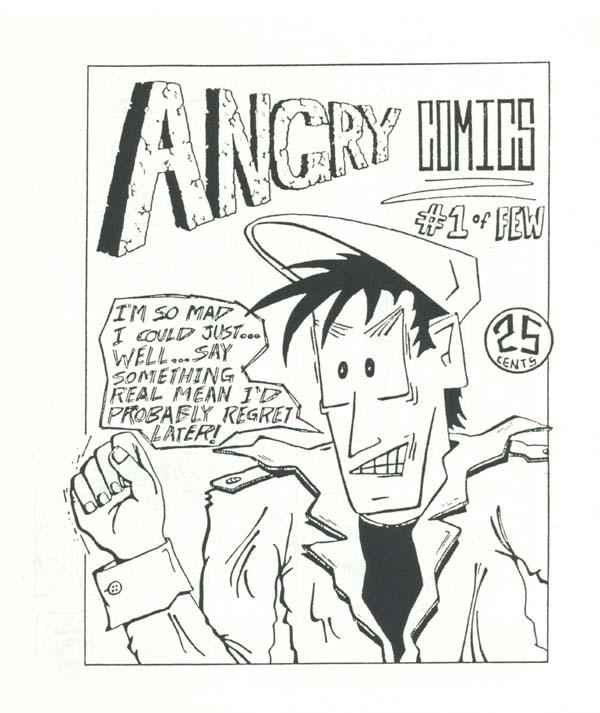 Angry Comics #1, Eyestrain Comics, 1991