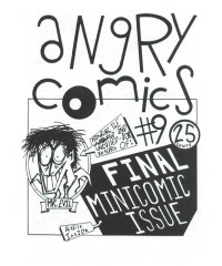 Angry Comics #9, Eyestrain Comics, 1993