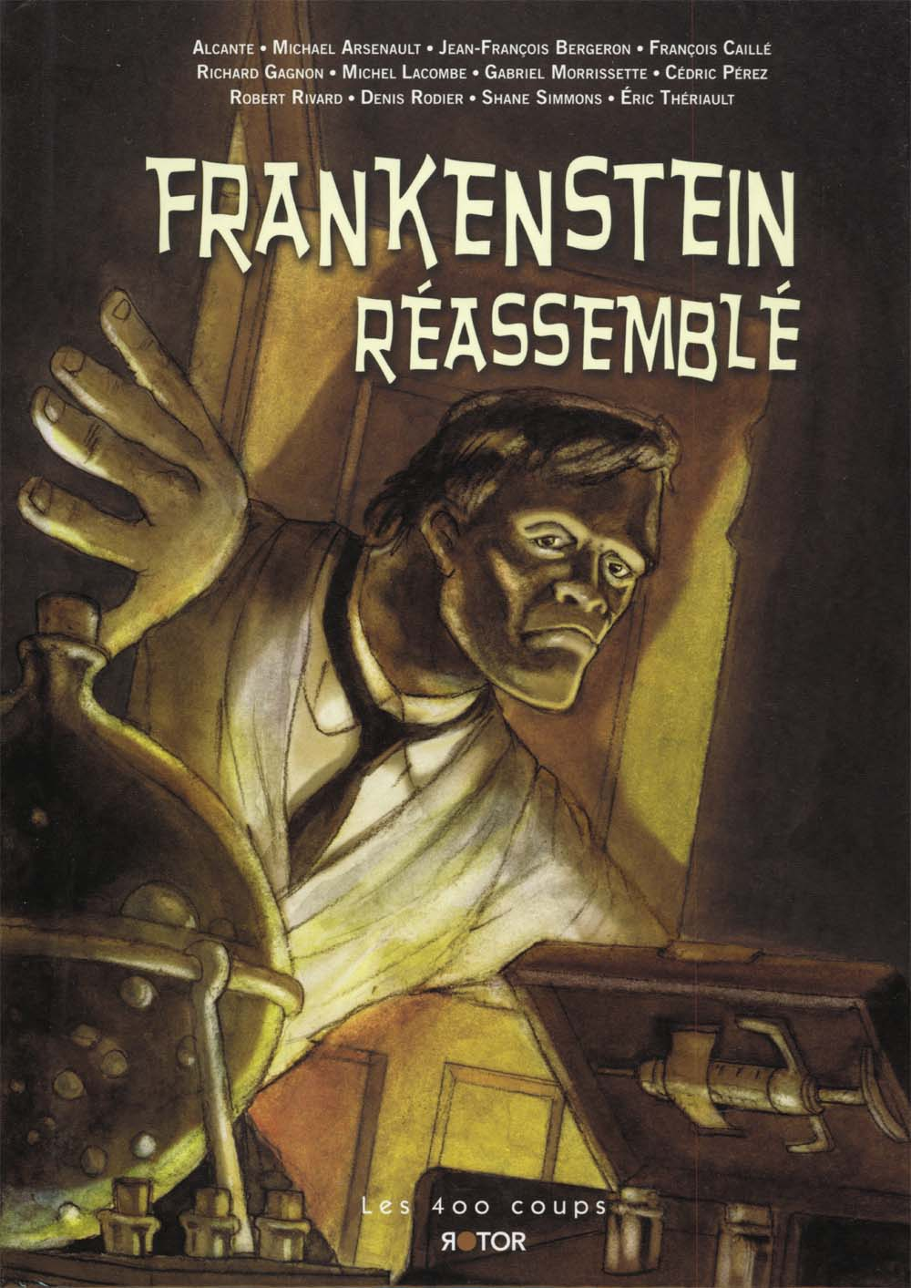 Frankenstein Reassembled Cover