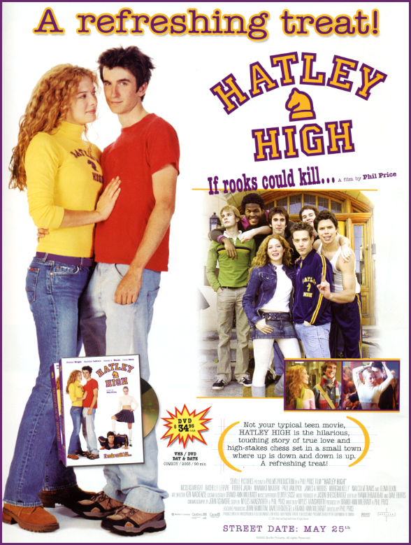 Hatley High, 2003, followed ten years later by the sequel Hatley High II: White House Down